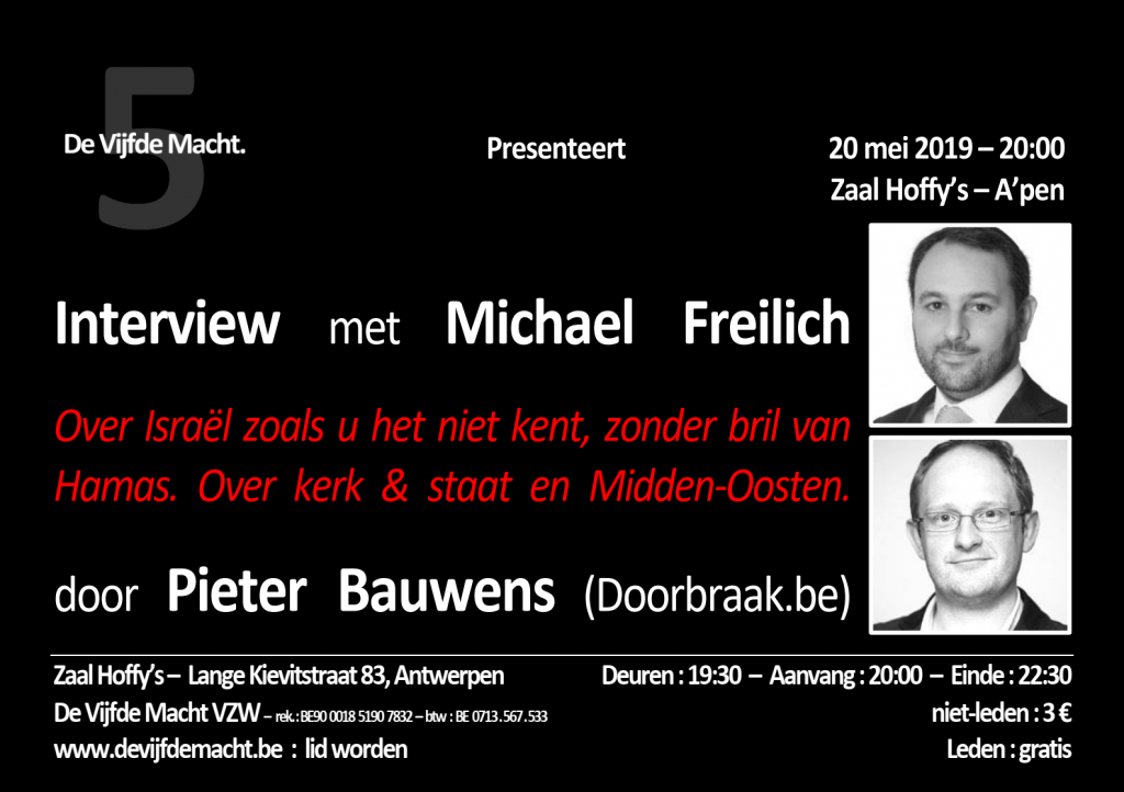 Freilich Michael - Media Flyer